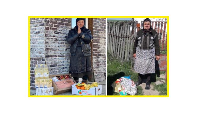 """Știri de Actualitate – """"O pungă cu alimente, o avere pentru un bătrân"""" este mărturia celor de la Asociația Europeană a Drepturilor Omului și Protecției Sociale care sprijină persoanele aflate momentan în situaţii de risc"""